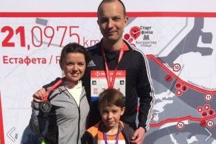 Маричка Падалко установила личный рекорд во время киевского полумарафона