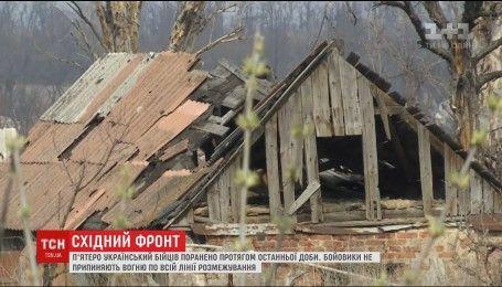 Бойовики понад 60 разів відкривали вогонь по українських позиціях