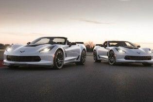 Chevrolet выпустит юбилейную спецверсию спорткара Corvette