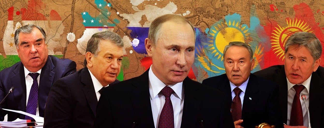 Центральноазиатская пята Кремля