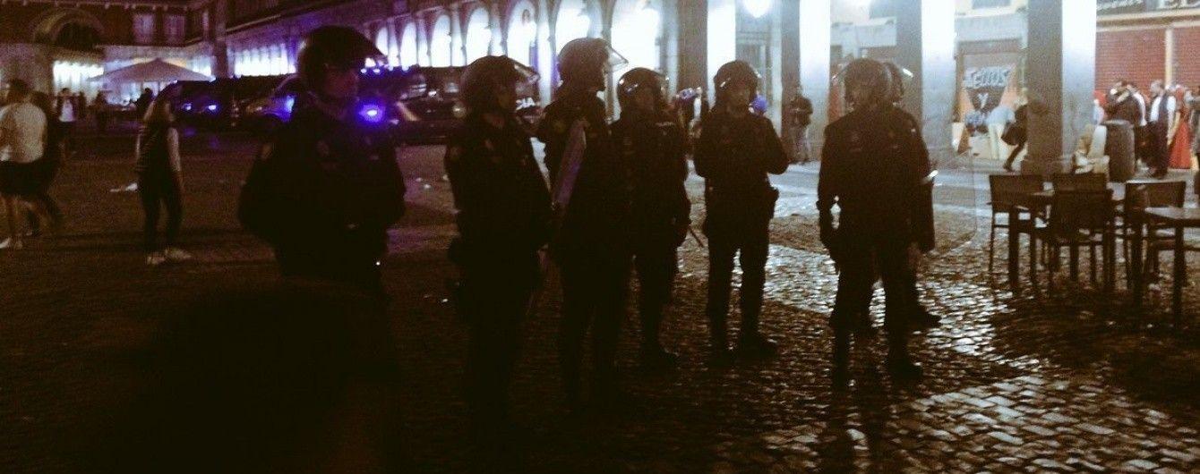 """Полиция Мадрида без причин избила фанатов """"Лестера"""" перед матчем Лиги чемпионов"""