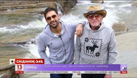 Віталій Козловський привітав батька з 70-річчям