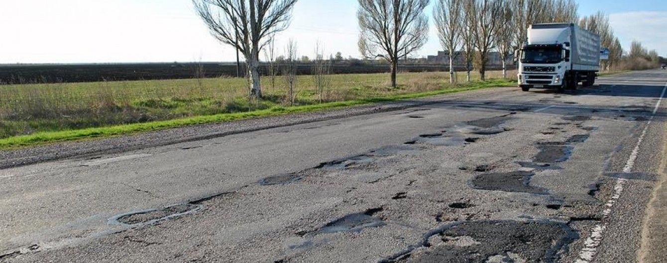 Треть ремонтов дорог была сделана некачественно - Гройсман