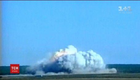 США сбросили самую большую не ядерную бомбу на Афганистан