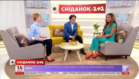 Жінка, що досягла бажаної фігури: у гостях Сніданку Ірина Яценко