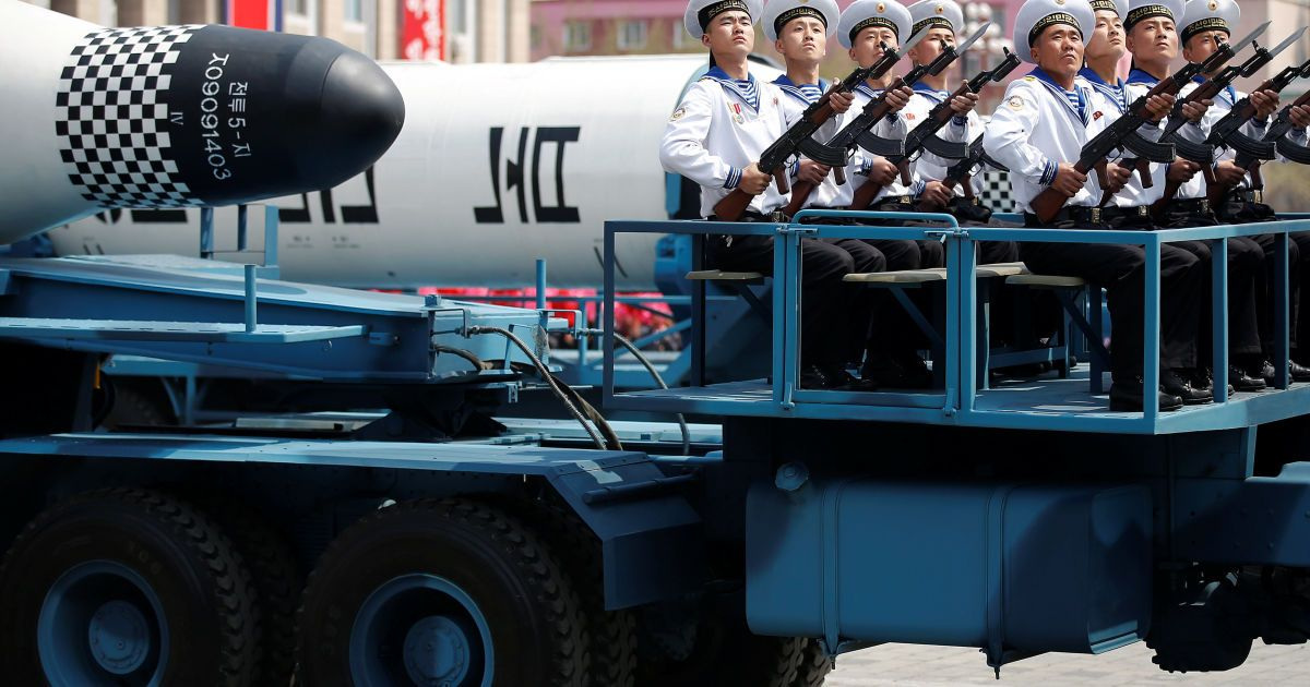 Балістична ракета Пуккуксонг, призначена для запуску із субмарин @ Reuters