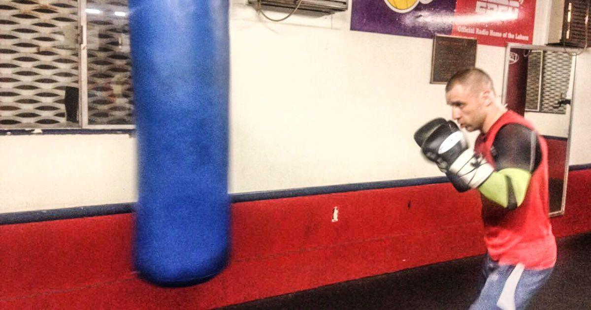 Бурсак готується до бою з Раміресом @ k2ukraine.com
