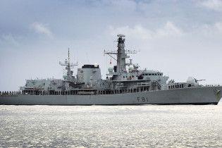 Фрегат британских ВМС сопроводит корабли РФ, которые пройдут через Ла-Манш
