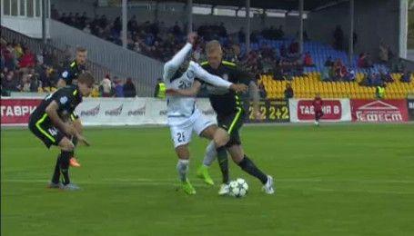 Чорноморець - Олександрія - 1:0. Відео-огляд матчу