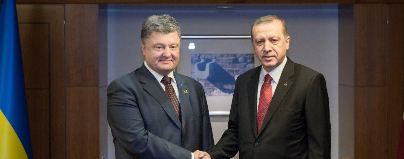 У Стамбулі розпочалася зустріч між Порошенком та Ердоганом