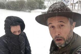 Змерзлі Бабкін та Фагот показали сніговий апокаліпсис у Харкові