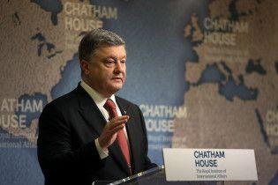 Порошенко визначився з долею закону про членство України в НАТО
