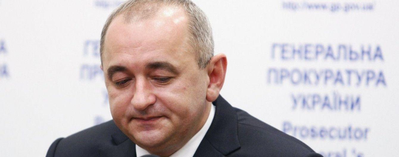 Экс-главного военного прокурора Матиоса уволили со службы в запас