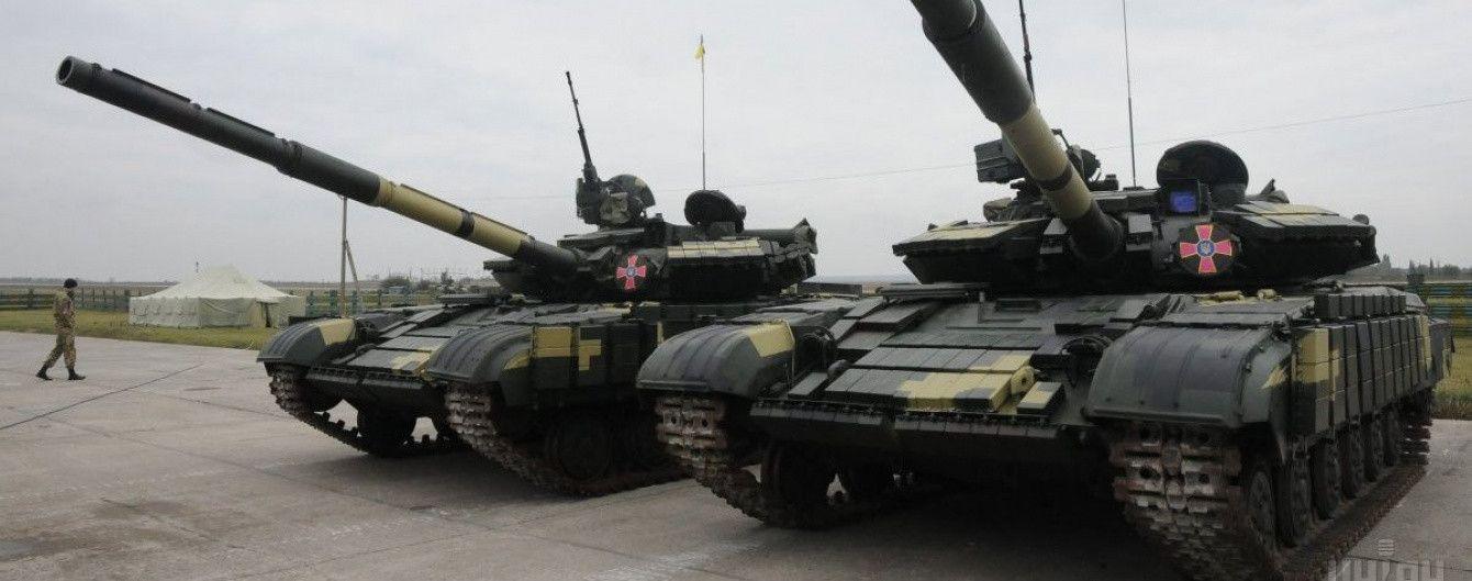 """""""Укроборонпром"""" похизувався результатами ремонту танка Т-64. Фото до та після"""