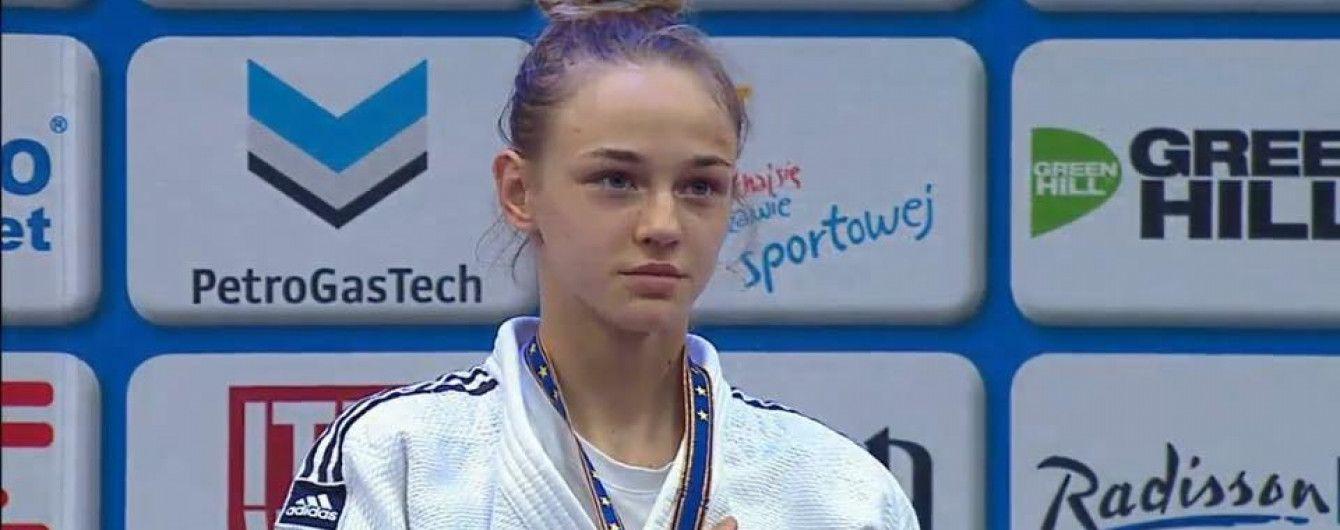 """Історичне """"золото"""". 17-річна українка Білодід виграла чемпіонат світу з дзюдо"""