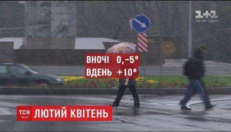 Украина оказалась в ловушке между двумя циклонами