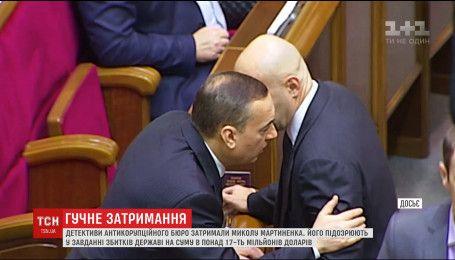 """Детективи НАБУ затримали екс-депутата """"Народного фронту"""""""