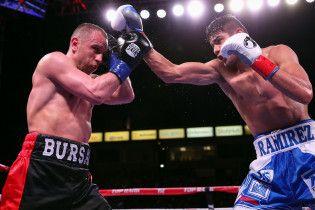 Як Бурсак програв мексиканцю у чемпіонському бою