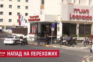 В центре Тель-Авива палестинец порезал пенсионеров ножницами-кусачками
