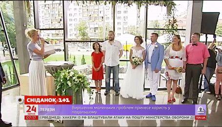 6 тысяч украинских пар заключили экспресс-брак