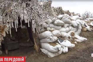 """Холода вносят коррективы в """"окопную войну"""" в ООС"""