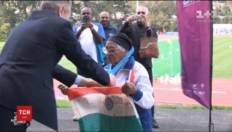 101-летняя Манчестер Каур на соревнованиях в Новой Зеландии пробежала сто метров менее чем за 2 минуты