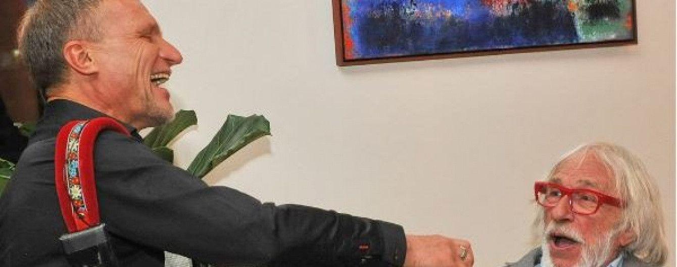 """Легендарний П'єр Рішар кумедно заспівав хіт """"Весна"""" з Олегом Скрипкою"""