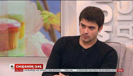 """Кирило Дицевич розповів про інтриги серіалу """"Хороший хлопець"""" та свій ідеал дівчини"""