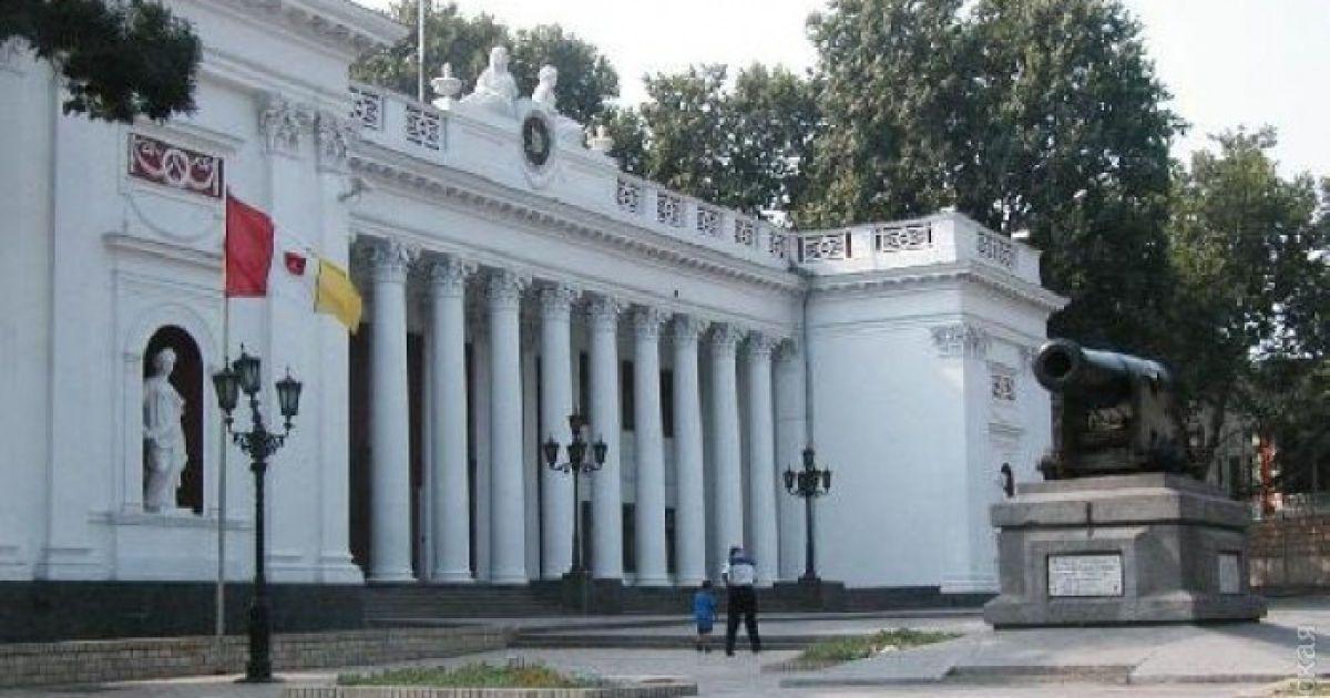 В Одессе из здания городского совета эвакуировали 60 человек