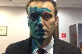 Навальный рассказал, что после нападения с зеленкой глаз потерял 80% зрения