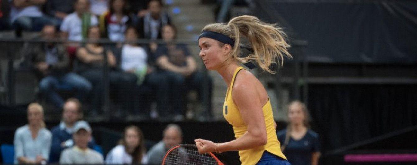 Перша ракетка України Світоліна вийшла до чвертьфіналу турніру в Стамбулі