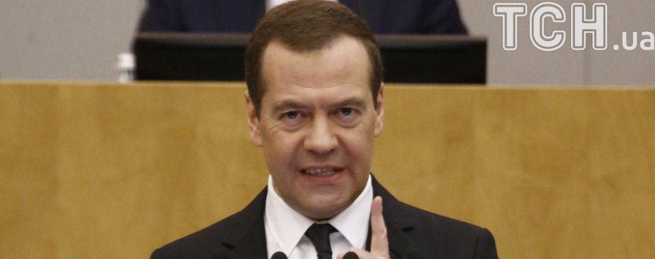 """""""Циничное пренебрежение нормами"""": в МИД протестуют против визита Медведева в оккупированный Крым"""