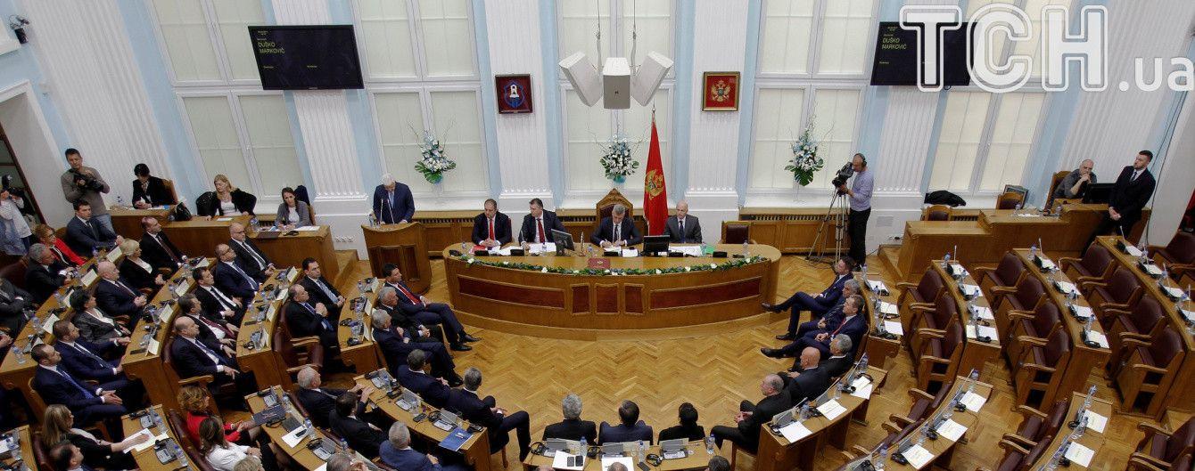 У Чорногорії лідер опозиції забарикадувався в будівлі парламенту, аби уникнути арешту