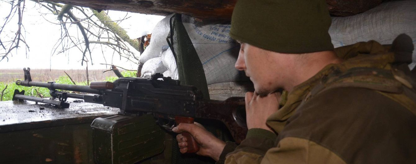 Боевики 18 раз стреляли по позициям украинской армии. Хроника АТО