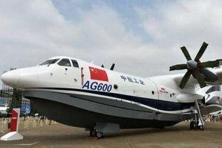 У Китаї найбільший у світі літак-амфібія успішно здійснив перший політ