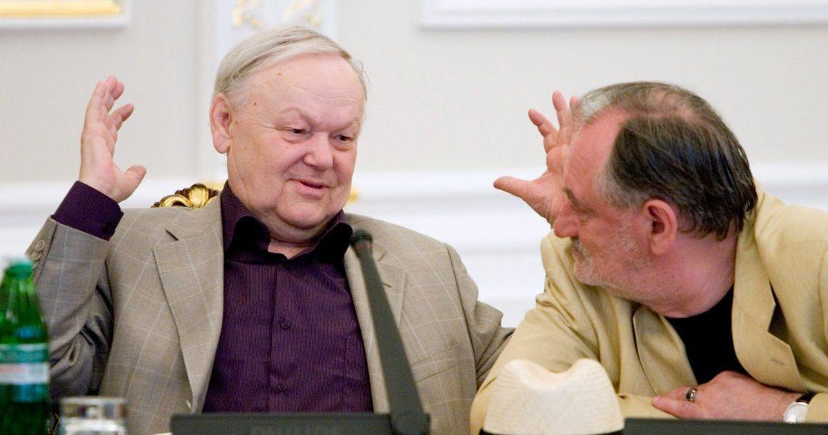 Борис Олейник (слева) и Богдан Ступка (справа)
