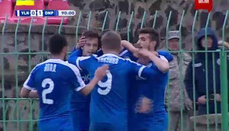 Волынь - Днепр - 0:1. Видео гола Чеберко