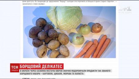 Експерти та аграрії називали причини дефіциту овочів для борщу
