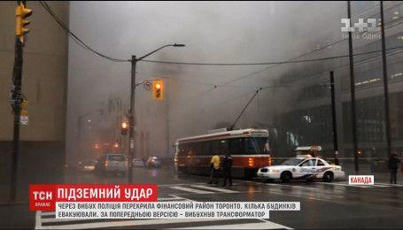 У Торонто під землею через надмірну вологу вибухнув трансформатор