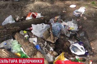 Киевляне стали меньше сорить на отдыхе за последние годы