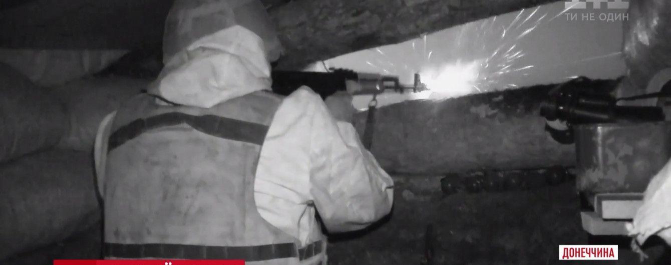 На Донеччині відбулися масштабні нічні бойові стрільби українських морпіхів
