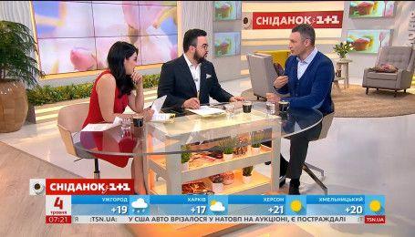 Виталий Кличко намекнул на возможность боя-реванша брата Владимира с Энтони Джошуа