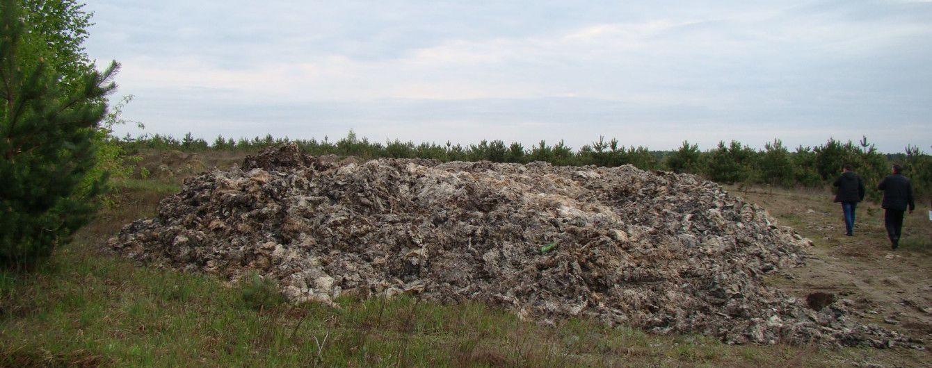 На Тернопільщині та Львівщині влаштували незаконні скотомогильники. Вони загрожують отруєнням та наносять державі мільйонних збитків