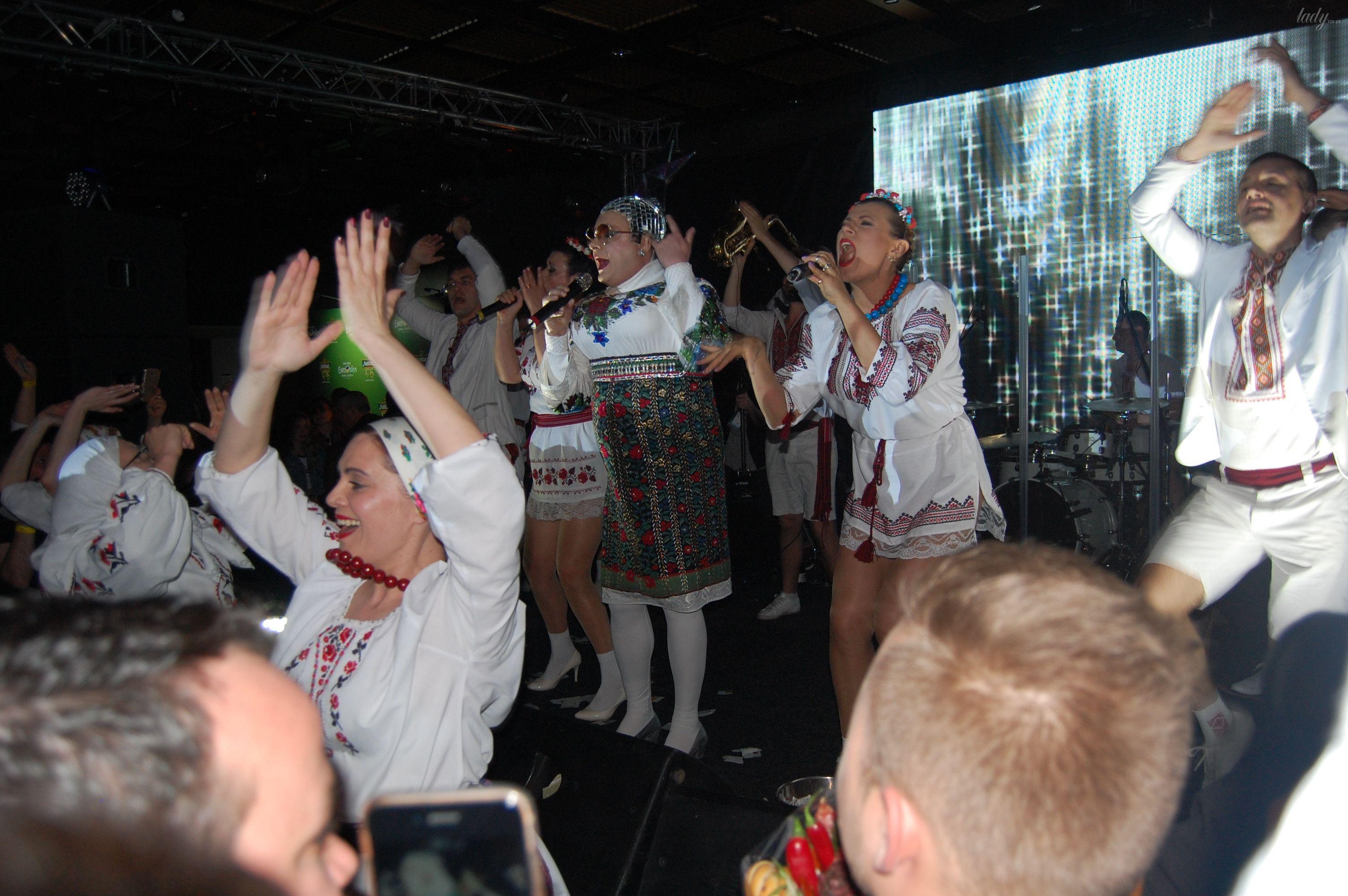 Верка Сердючка на вечеринке в EuroClub_1