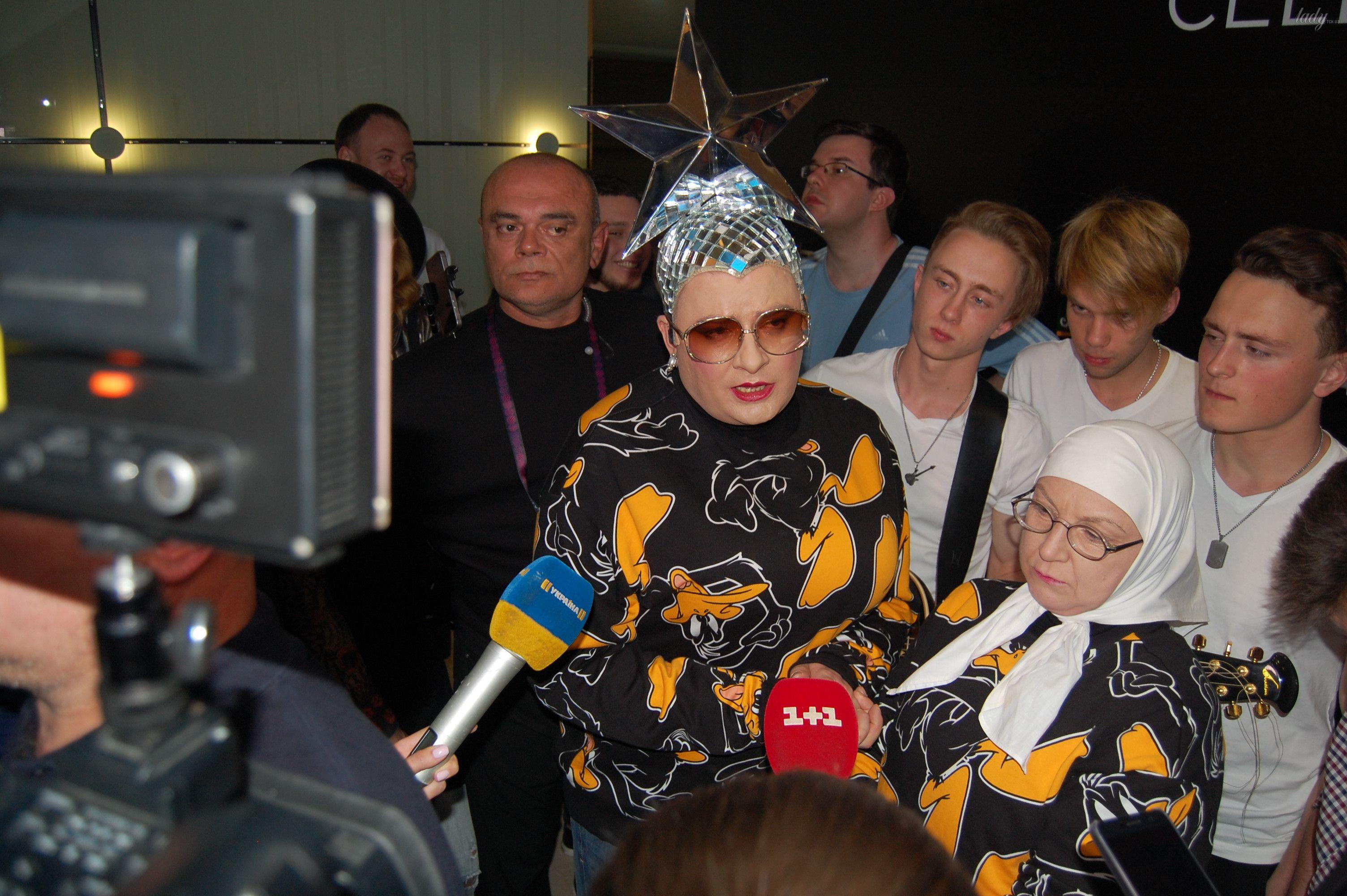 Верка Сердючка на вечеринке в EuroClub_14