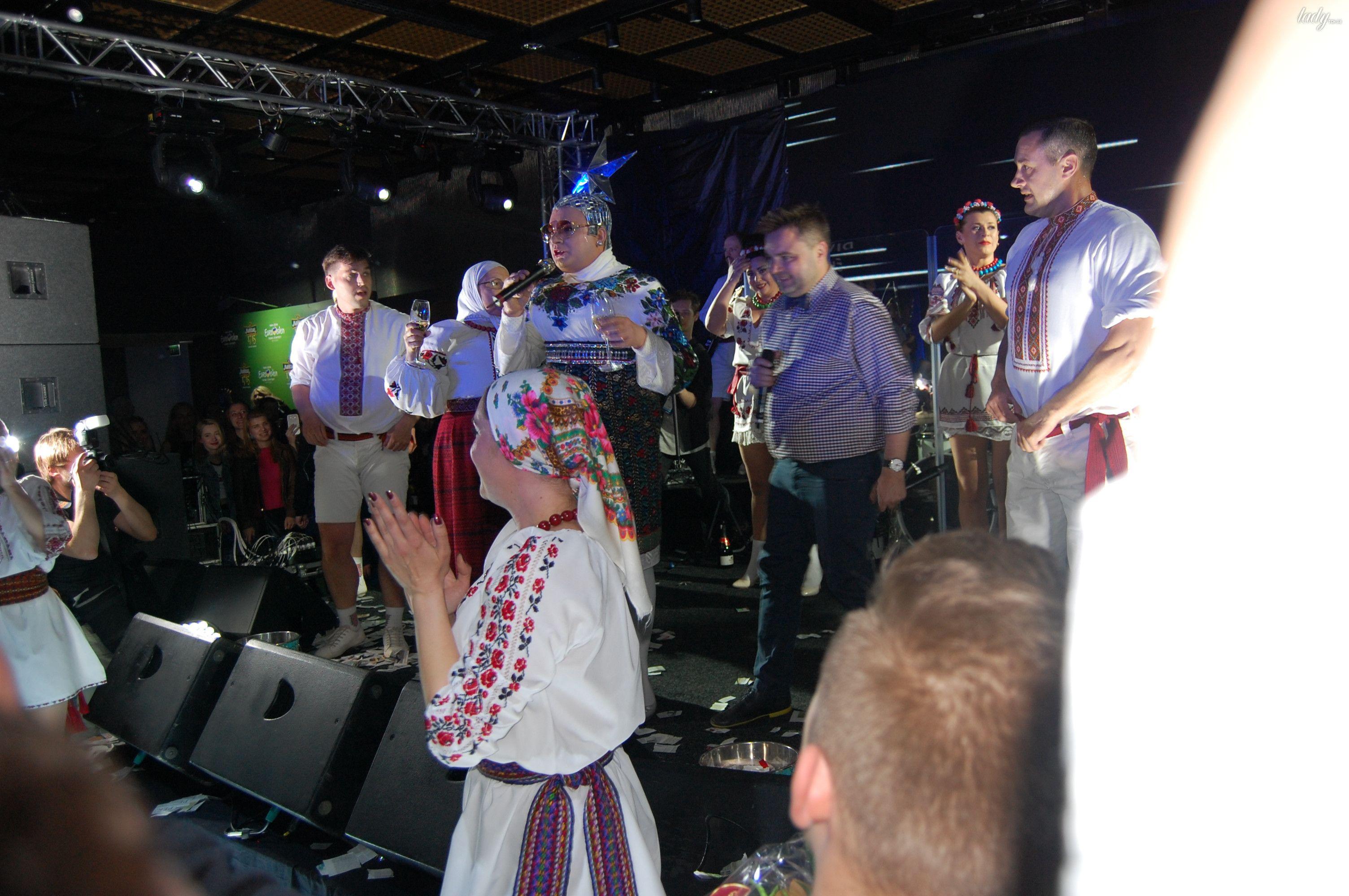 Верка Сердючка на вечеринке в EuroClub_5