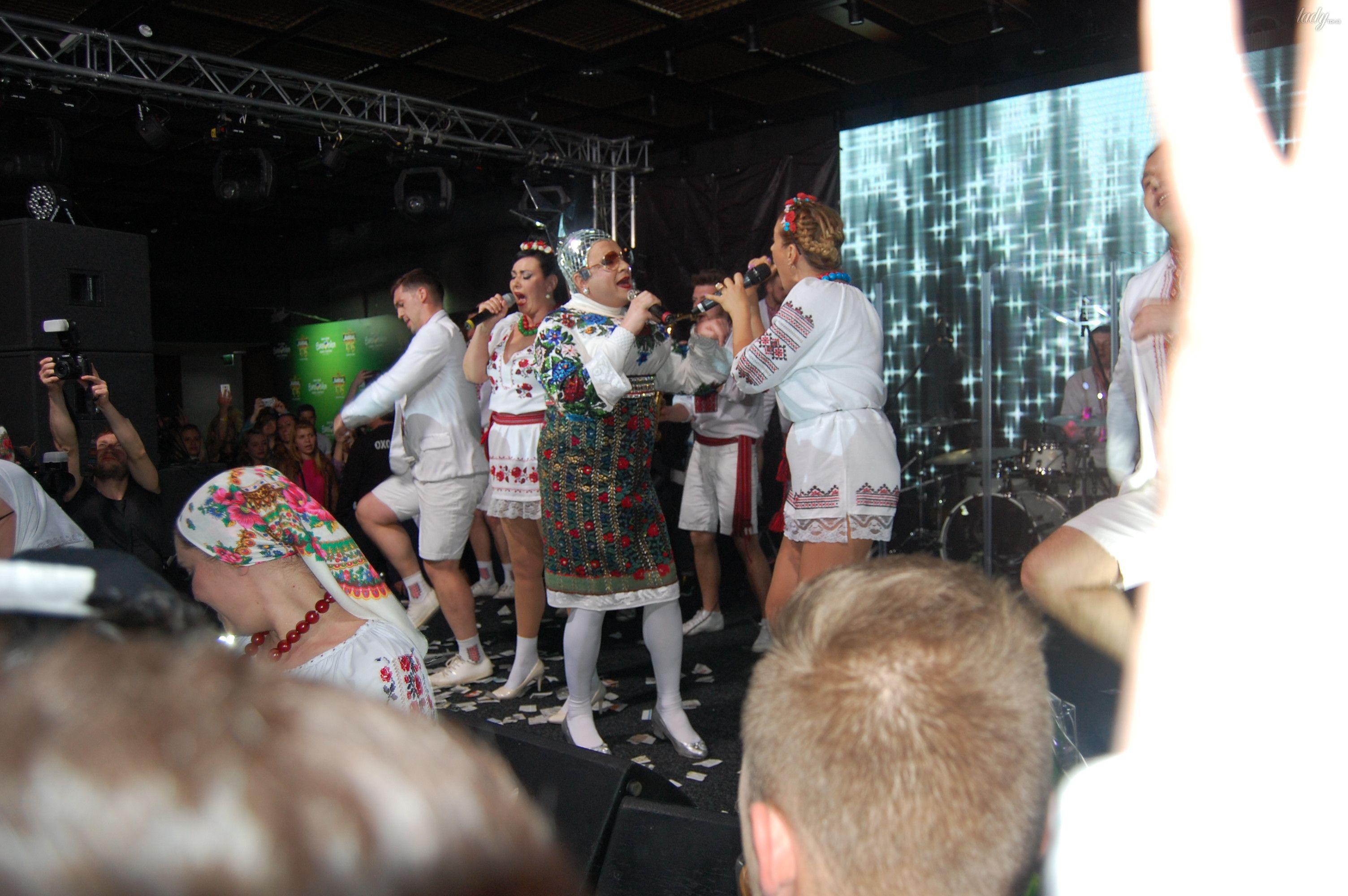 Верка Сердючка на вечеринке в EuroClub_3