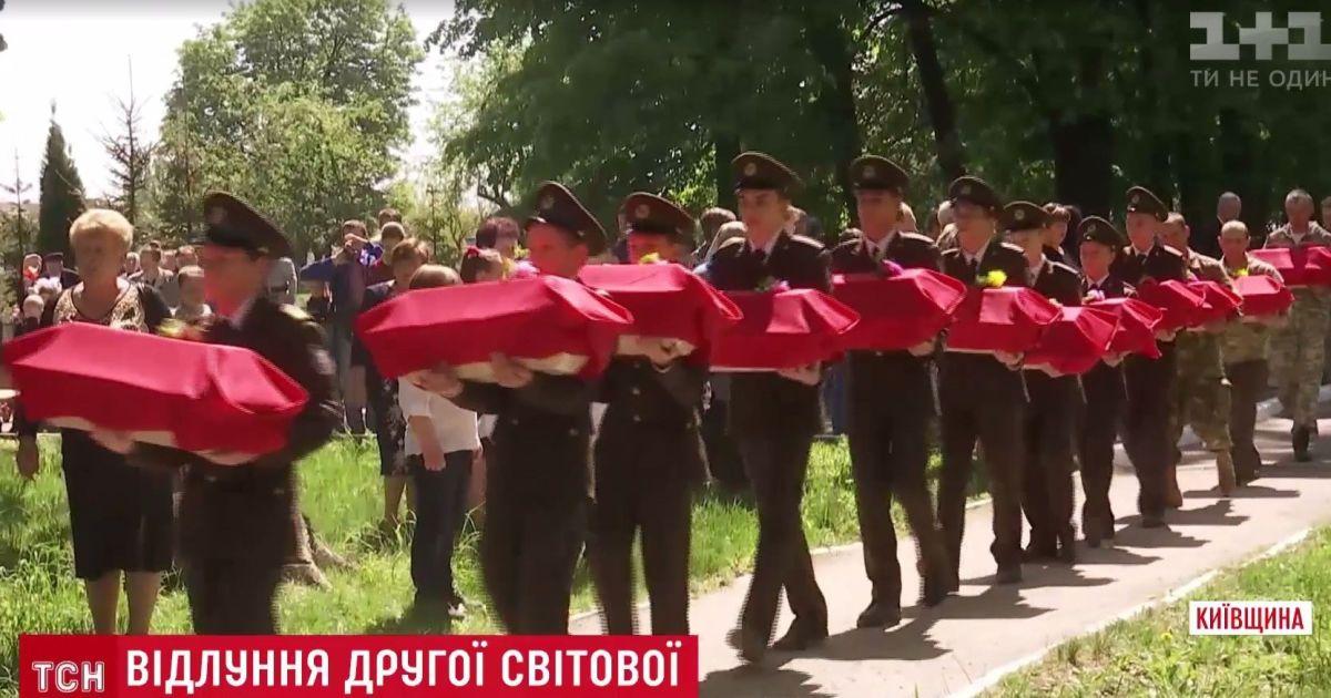 Под Киевом нашли массовое захоронение жертв войны