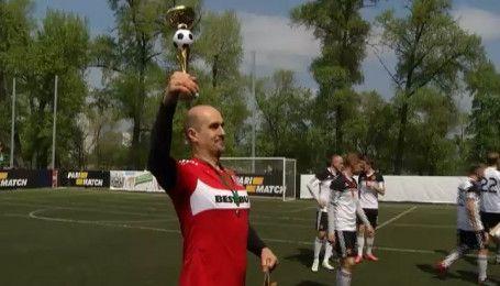 Команда Профутболу помірялася силами з глядачами на футбольному полі
