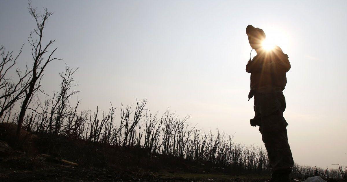 В результате единственного за день обстрела в зоне АТО погиб украинский военный